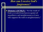 how can i receive god s forgiveness68