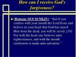 how can i receive god s forgiveness83