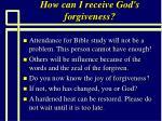 how can i receive god s forgiveness98