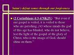 satan s defeat comes through our forgiveness42