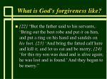 what is god s forgiveness like59