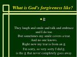 what is god s forgiveness like62