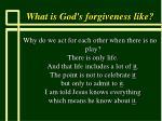 what is god s forgiveness like64