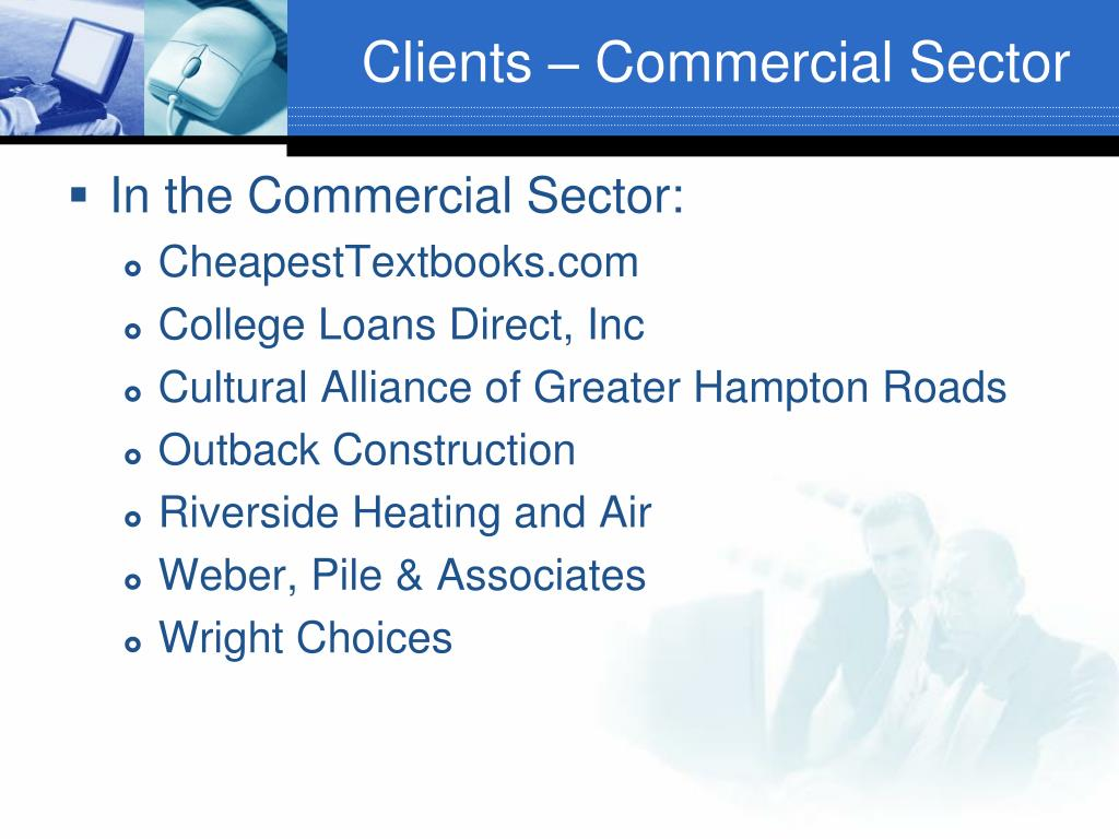 Clients – Commercial Sector