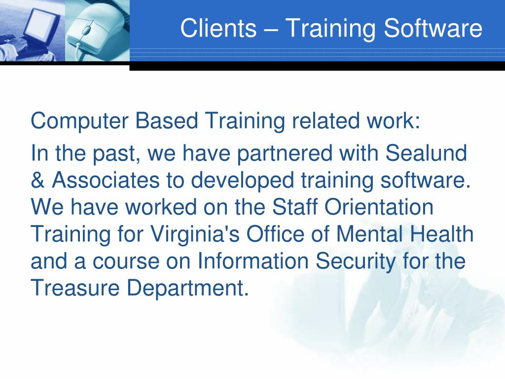 Clients – Training Software
