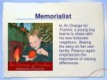 memorialist