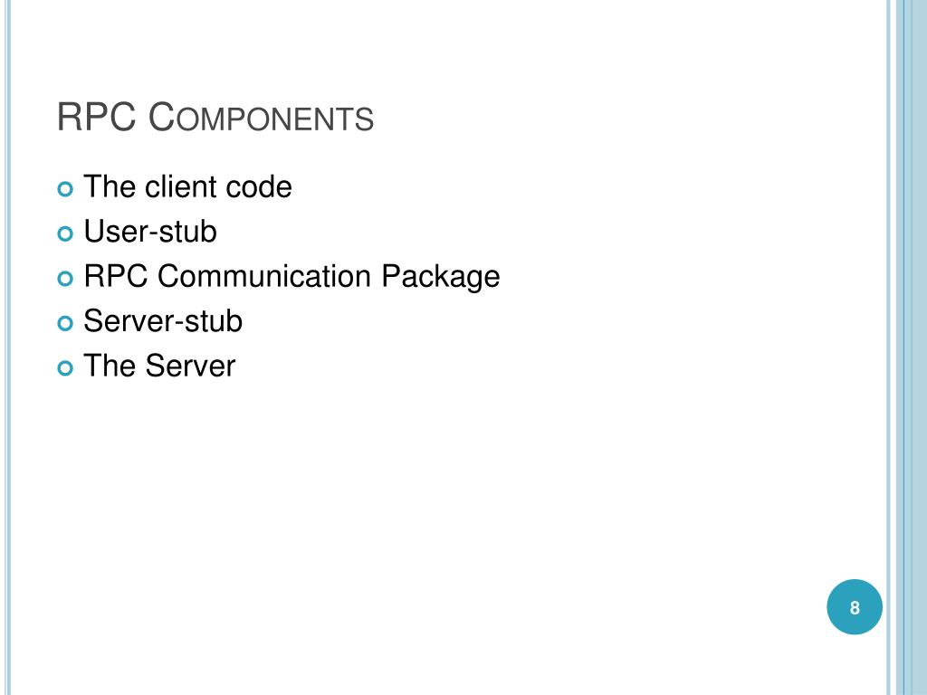 RPC Components