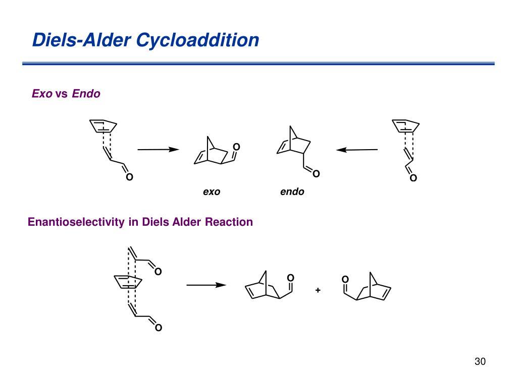 Diels-Alder Cycloaddition