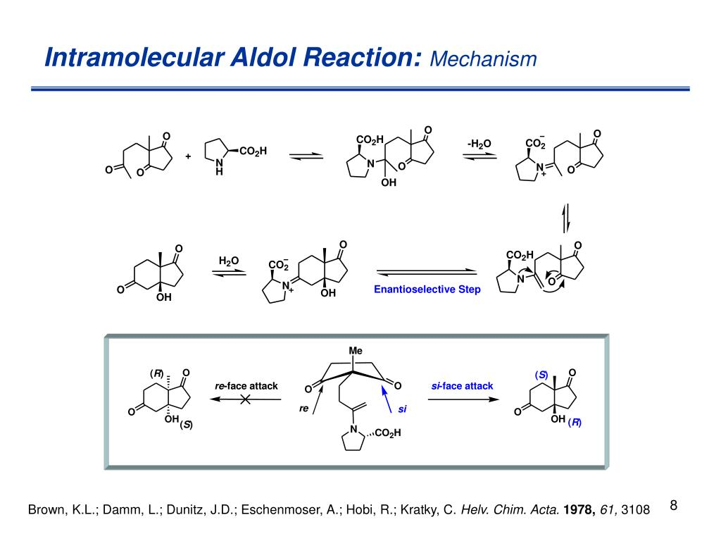 Intramolecular Aldol Reaction: