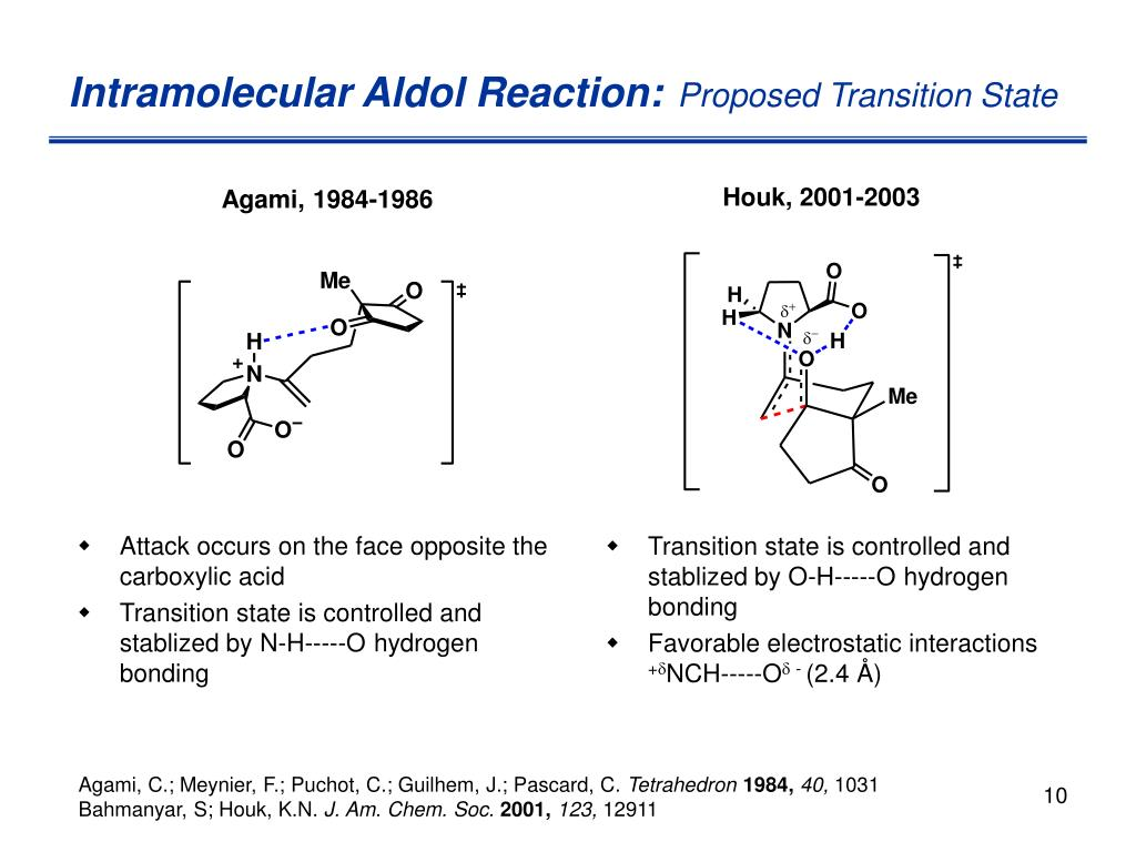 Attack occurs on the face opposite the carboxylic acid