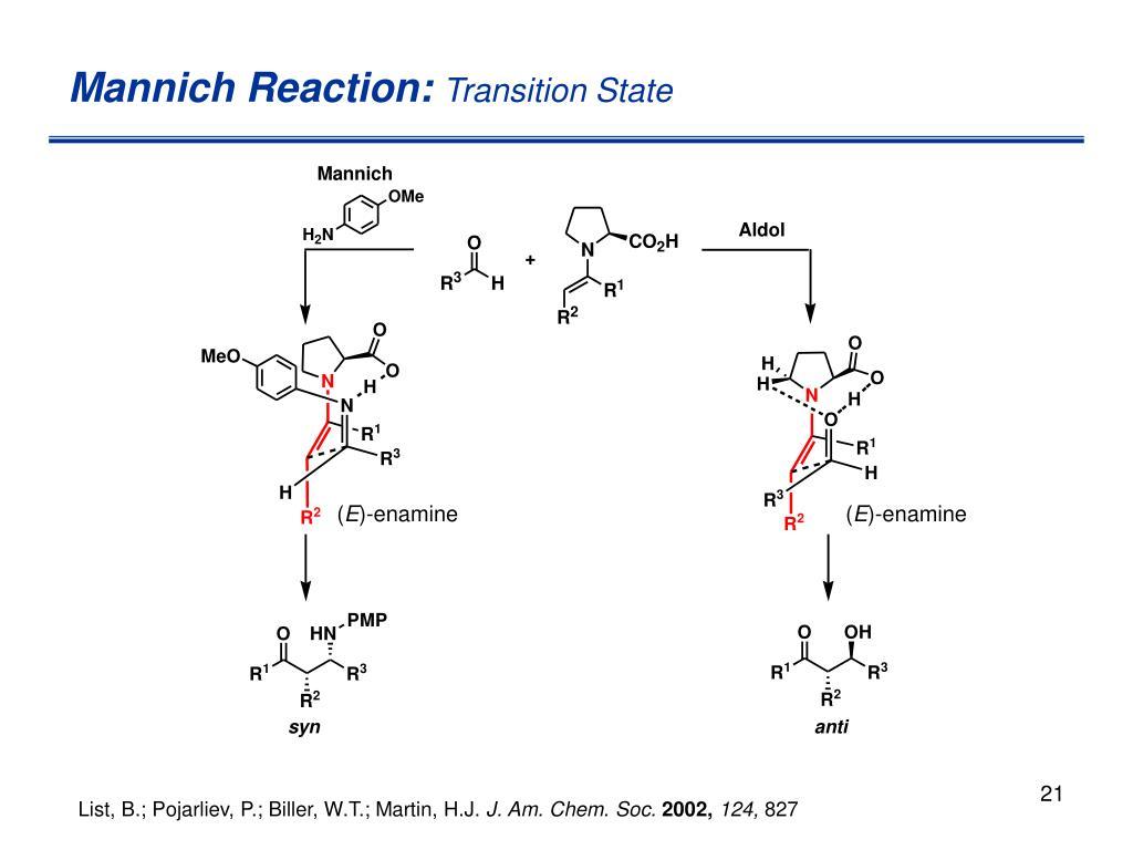 Mannich Reaction: