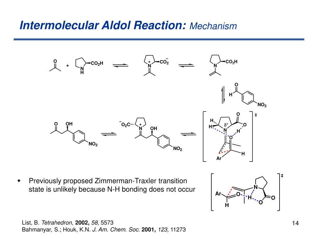 Intermolecular Aldol Reaction: