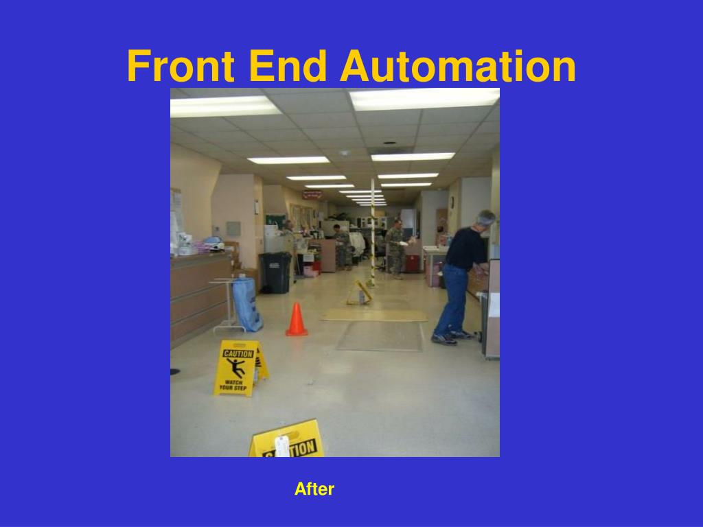 Front End Automation