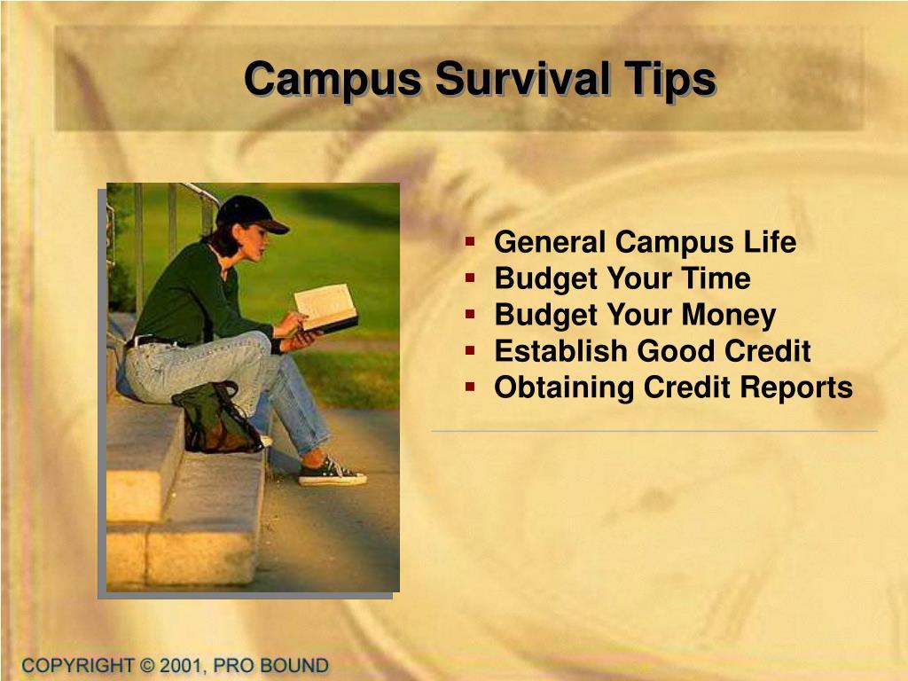 Campus Survival Tips