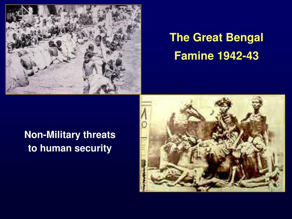 The Great Bengal Famine 1942-43
