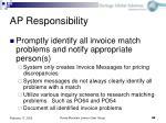 ap responsibility45