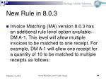 new rule in 8 0 3