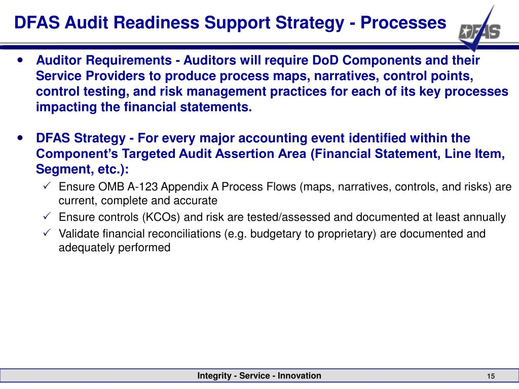 PPT - Indianapolis Audit Readiness PowerPoint Presentation