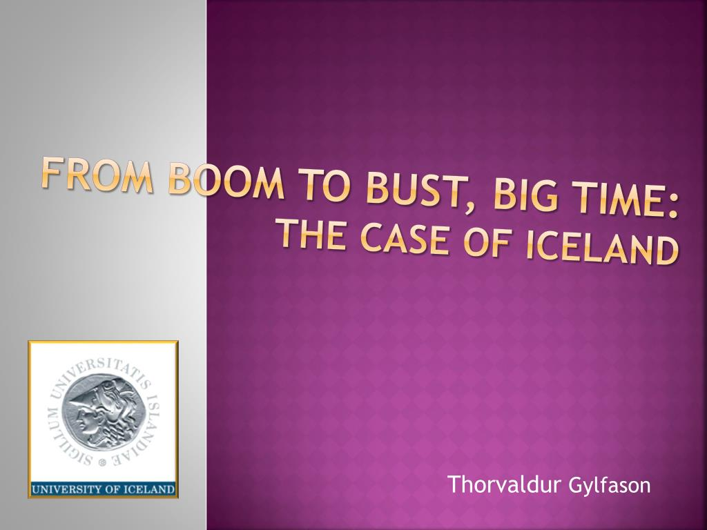 from boom to bust big time the case of iceland