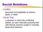 social relations11