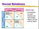 social relations12