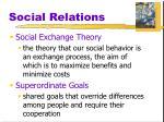 social relations18
