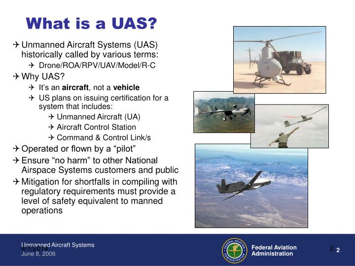 What is a UAS?