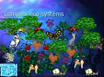 complex eco systems