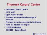 thurrock carers centre