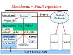 mendosus fault injection