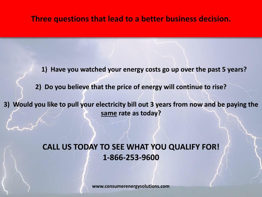 Three questions that lead to a better business decision.