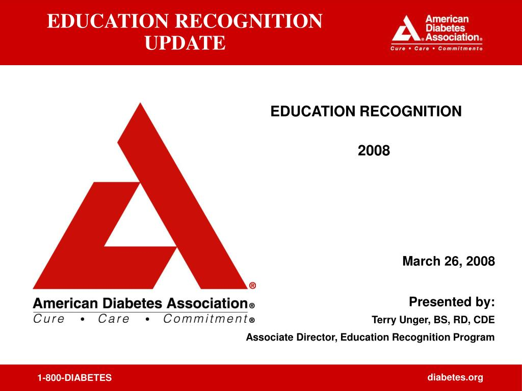 education recognition update