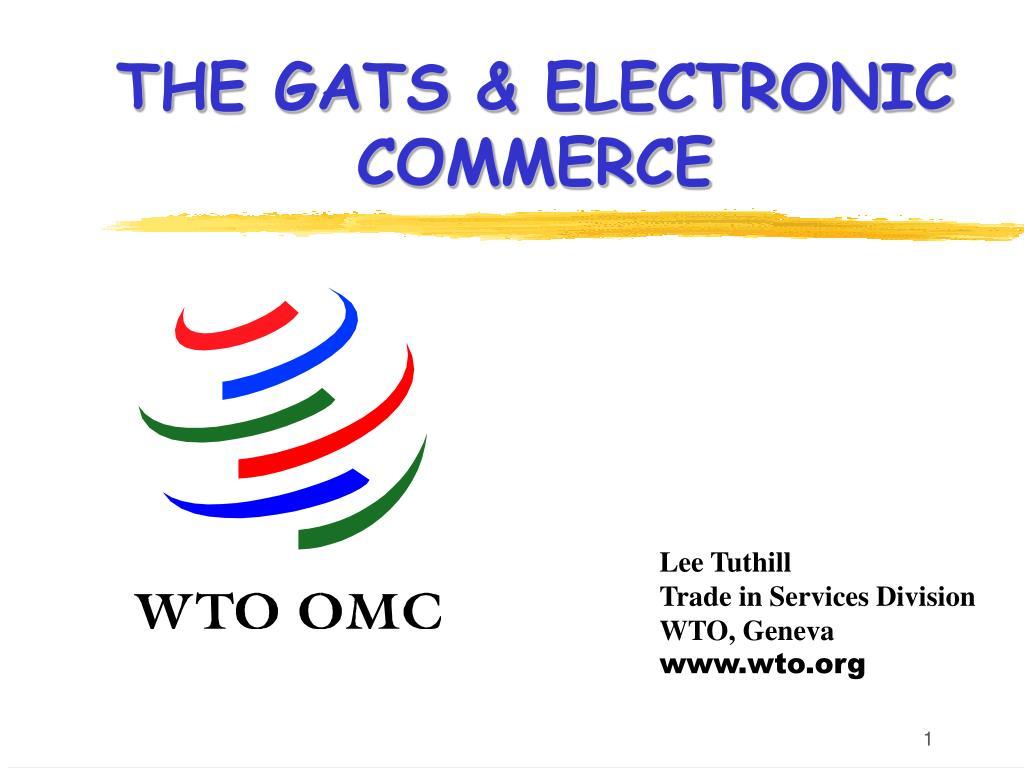 the gats electronic commerce l.