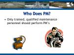 who does pm