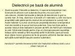 dielectricii pe baz de alumin