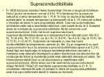 supraconductibilitate