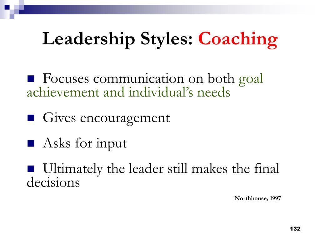 Focuses communication on both
