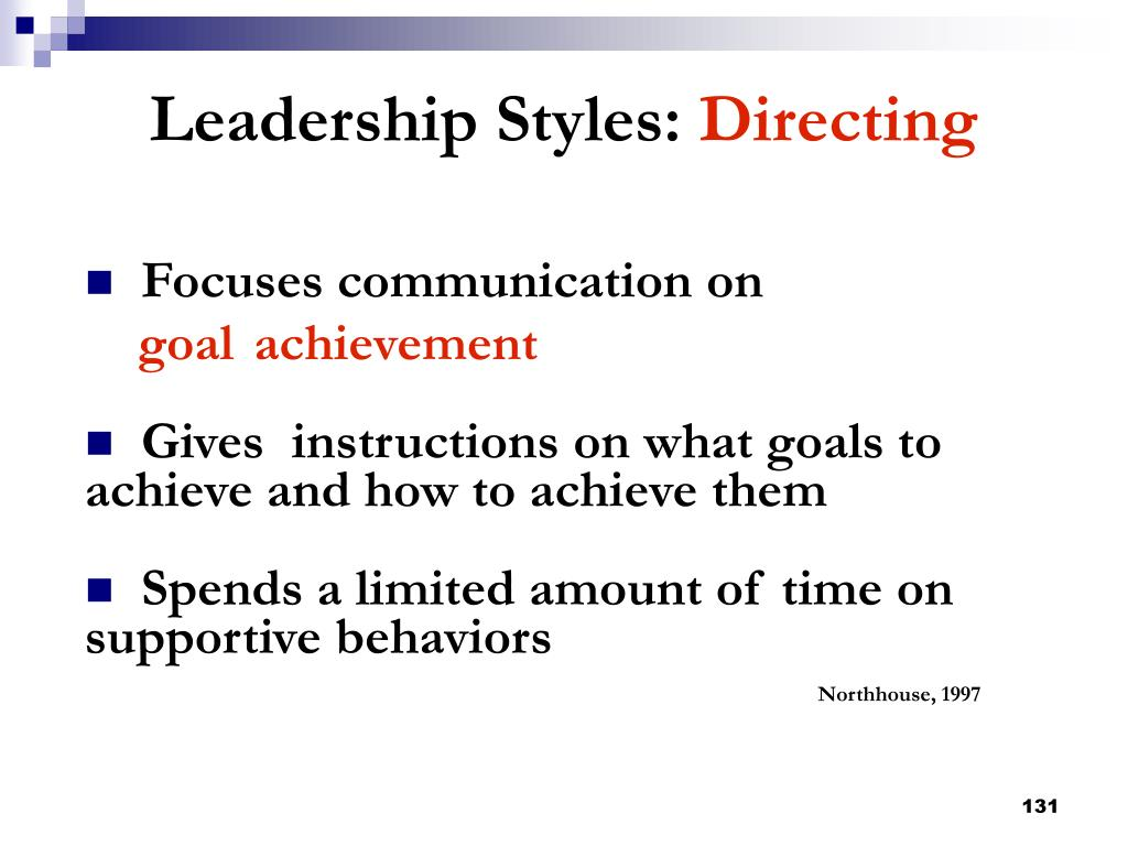 Focuses communication on