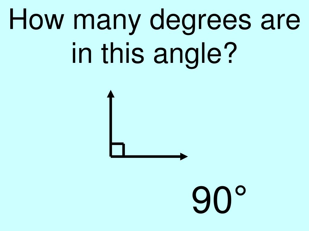 How many degrees are in this angle?