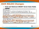 isir nslds changes65