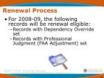 renewal process46
