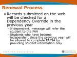 renewal process47
