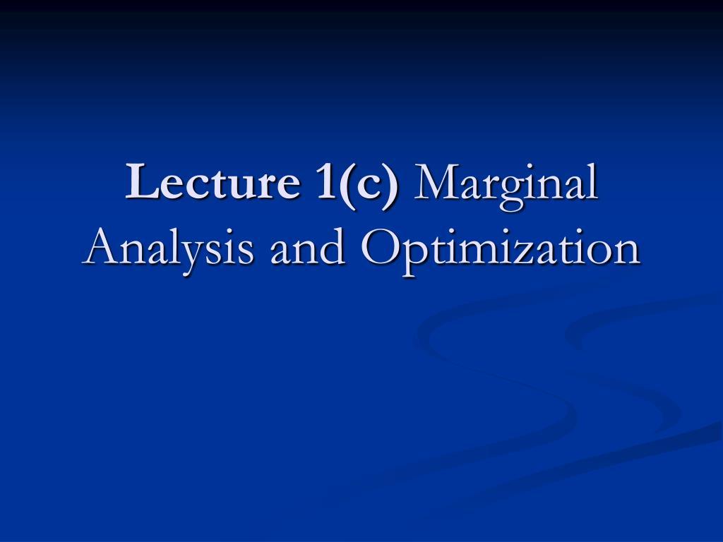 Lecture 1(c)