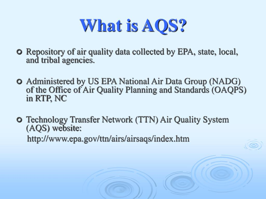 What is AQS?