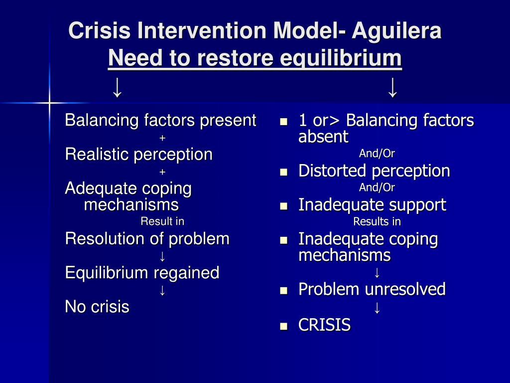 Balancing factors present