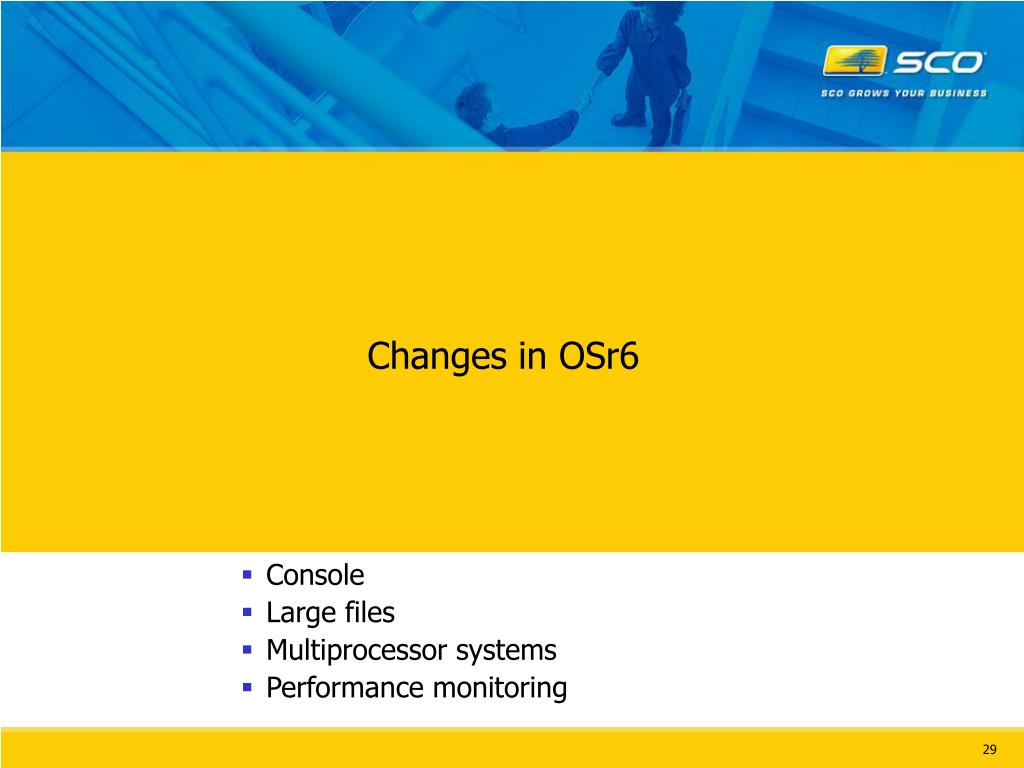 Changes in OSr6