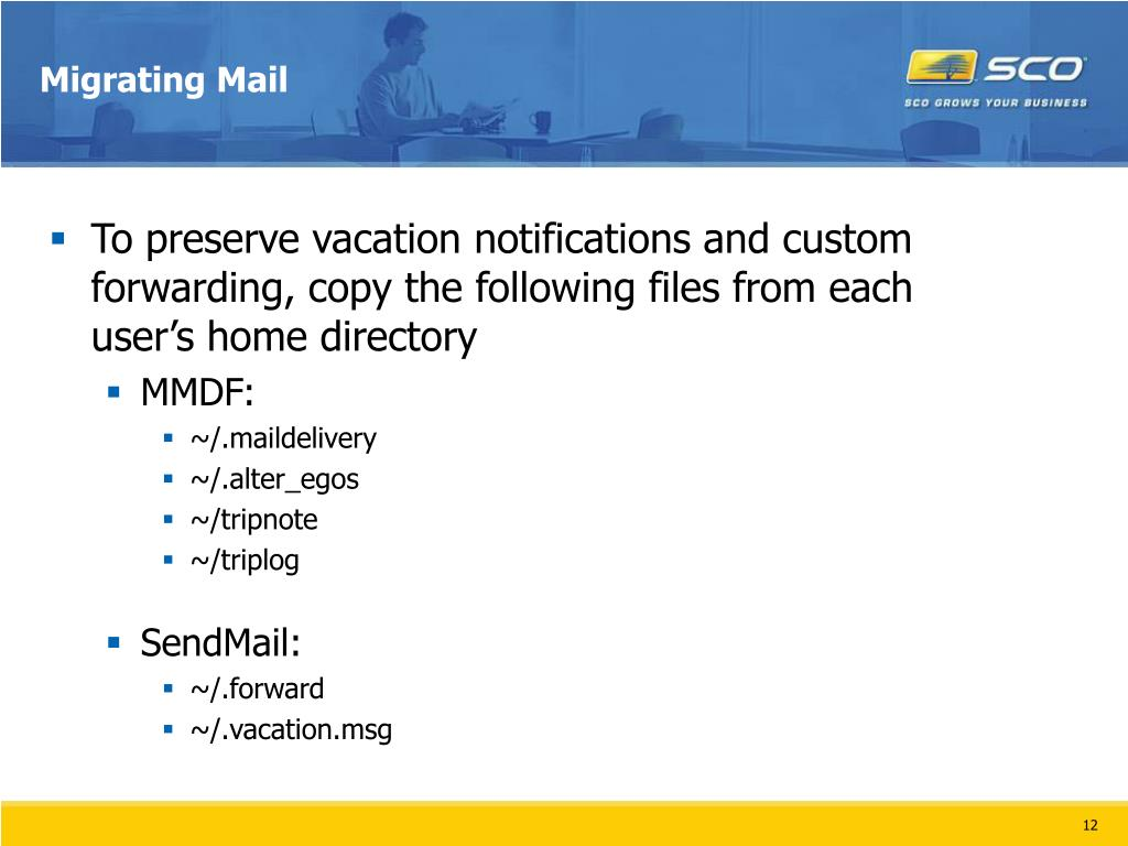Migrating Mail