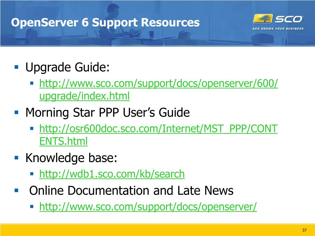 OpenServer 6 Support Resources