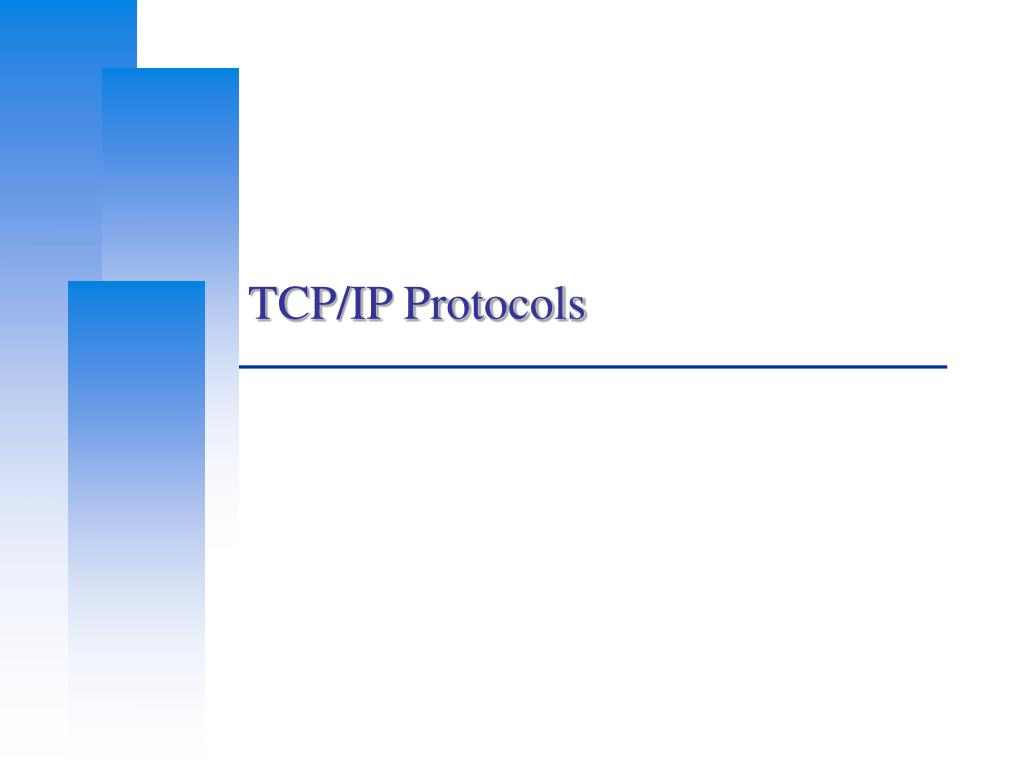 tcp ip protocols l.