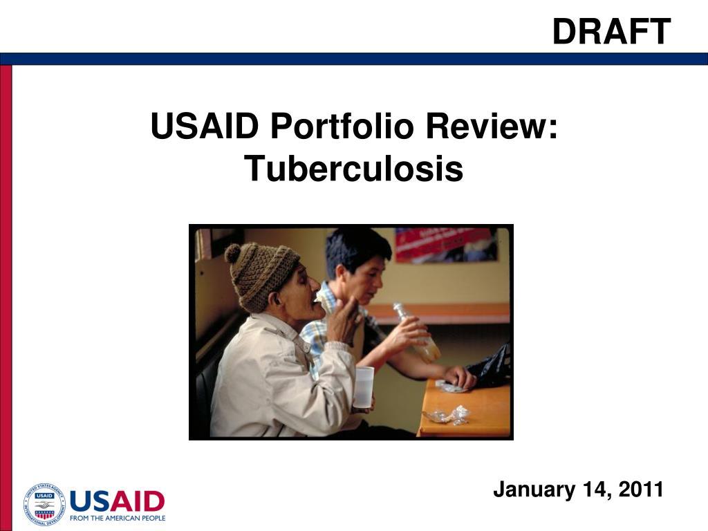usaid portfolio review tuberculosis l.